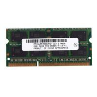 1X(DDR3 SO-DIMM DDR3L DDR3 1,5 V Speicher RAM für Laptop ebook (2 GB / 1066) f1m