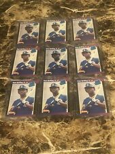 (9)1989 DONRUSS KEN GRIFFEY JR RC HOF SEATTLE MARINERS NM