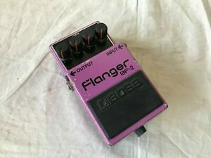 BOSS BF-2 BF2 Flanger Black Label Made in Japan Free Shipping