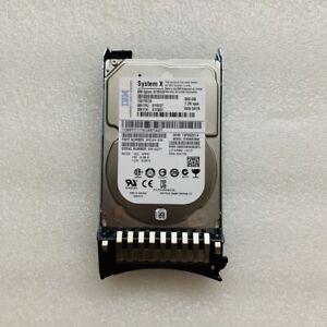 """IBM 81Y9727 81Y9726 81Y3857 500GB 7.2K 6G NL 2.5"""" SFF SATA HARD DRIVE"""