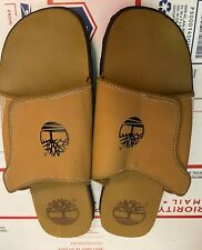 Timberland Hommes Montagne Glissière Taille 13 Sandales Chausson Tongs Chameau #
