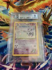 Pokémon Bgs 9 1st Edition Sabrinas Gengar
