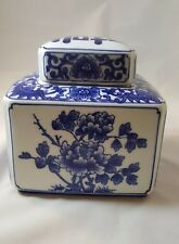 FOR THE HOME: BLUE & WHITE CHINESE GINGER JAR $79.99 FREE GIFT BOX,FREE SHIPPING