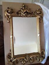 Antique Style Ornate Mirror ( 91cm x 61cm )