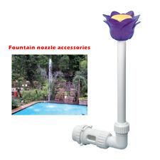Waterfall Fountain Flower Head In / Above Ground Pool Water Spray Fountain Xn