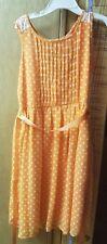 Speachless Orange Printed Dress - size 8