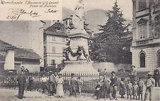 8130) DOMODOSSOLA MONUMENTO G.G. GALETTI PIAZZA DEL MUNICIPIO.
