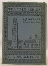 Elizabeth Jessup Blake SIGNED - Up and Down - Yale Series of Younger Poets 1924