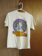 Vintage BUSCH GARDENS Cream Lion & Tiger 50/50 T-shirt Size Medium