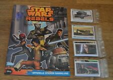 Topps Disney Star Wars Rebels alle 208 Sticker + Leeralbum komplett Set