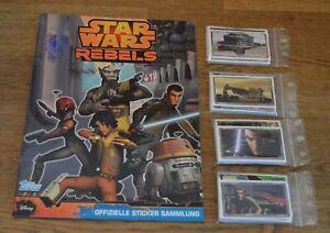 Topps Disney Star Wars Rebels All 208 Sticker +Empty Album Complete Set