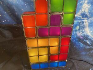 Tetris Light Lamp Stackable Retro Coloured Blocks