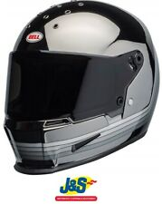 Bell Eliminator Spectrum FullFace Motorcycle Helmet Mirror Chrome Black SRP £350