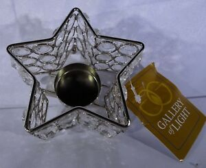 Gallery of Light Crystal Star Tealight Candle Holder T2