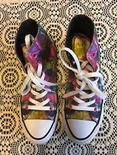 CONVERSE HIGH TOPS ALL STAR WOMENS COLORED FEATHERS EU 36.5,US 6