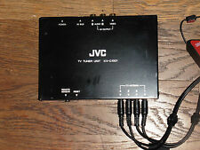 JVC kv-c1001 car trunk hidden tv tuner unit with antenna kvc1001 video audio bus