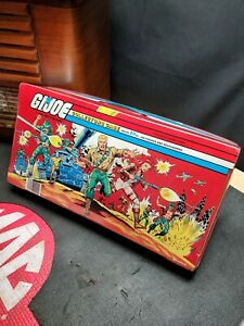 Vintage 1984 G.I. Joe Collectors Carrying Case Full of figures spirit more