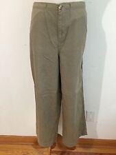 KATE HILL Casual Cotton Pants Tan Khaki Size 10