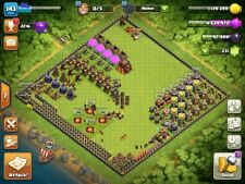 COC TH10 - LVL143, Name Change available,Max Def, BK - 27 AQ - 28