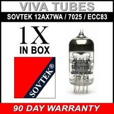Gain Tested Sovtek 12AX7WA / 7025 / ECC83 Vacuun Tube - Brand New
