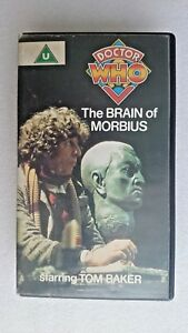 Doctor Who - The Brain Of Morbius - RARE Blue Label (VHS 1984 ) - Tom Baker