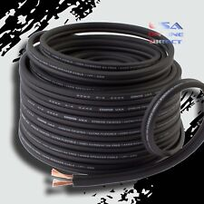 12 Gauge 50 ft OFC 100% Copper Marine Car Home Audio Speaker Cable Wire US