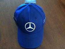 VALTTERI BOTAS OFFICIAL BLUE MERCEDES AMG ROUND PEAK CAP