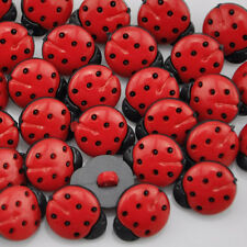 100 pcs 16mm Mix Mini Plastic Buttons For Kid's Clothes Sewing Crafts PT64