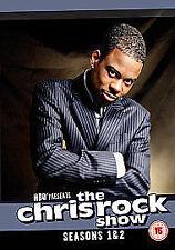 THE CHRIS ROCK SHOW SEASONS SERIES 1 & 2 WARNER HBO 3 DISC UK REGION 2 DVD NEW