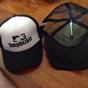 Limpbizkit Heavy Metal Music Band  Adjustable Baseball Cap White/Black
