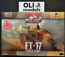 1/72 FT-17 Light Tank w/Octagonal Turret & Machine Gun - First to Fight 013
