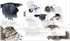 CANADA #2929 BIRDS OF CANADA SOUVENIR SHEET FIRST DAY COVER