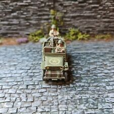 **Warlord Games - Bolt Action: US Army Jeep  bemalt**