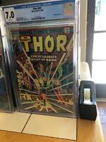 Thor #229, FN/VF 7.0 CGC, Ad for Hulk 181
