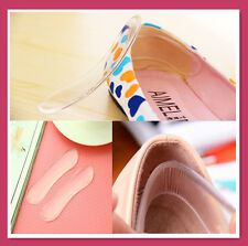 5 Pairs Gel Cushion Back High Heel Silicon Shoe Cushion Protector Insole-B