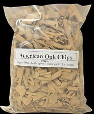 HOB American Oak Chips - 500g - Scotch, Whisky, Yeast Home Brew Spirits EZ