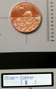 99.9% Copper rounds 1 oz The wall