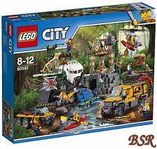 LEGO® City Dschungel 60161 Forschungsstation ! NEU & OVP !