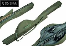 Fox Royale 10ft 2-Rod Padded Sleeve Carp Fishing Luggage Rod Holdall CLU269