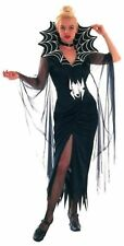 Sexy Mujer Sassy viudas web Halloween Traje Tamaño Talla única