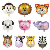 Jungle Animal Aluminium Foil Air Helium Balloon Birthday Party Balloons Decor