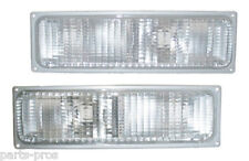 New Turn Signal Light Lamp PAIR / FOR 1990-93 CHEVROLET & GMC TRUCK