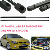For Ford Falcon BA BF 2002-2009 Auto Front Bonnet Gas Struts Hood Lift Support