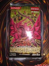 YU-GI-OH! INTROUVABLE BOOSTER 9 CARTES LA CROISEE DU CHAOS 1 ère EDITION NEUF FR