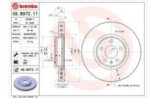 1x BREMBO Disco de freno delantero Ventilado 320mm Para AUDI Q5 A5 09.B972.11