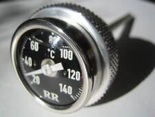 RR Ölthermometer schwarz BMW G650GS + Sertao Öl oil thermometer gauge 33mm 103b