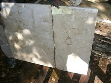 "Marble SLAB  vintage salvaged from mansion large-37""x 28"" 2 pieces"