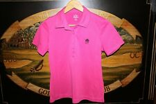Womens Small Hot Pink Golf Polo Shirt Ep Pro / Easter Apparel Silver Springs Cc