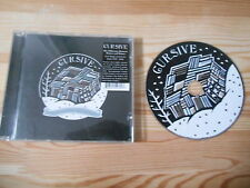 CD Indie cursive-Difference (12 chanson) saddle Creek