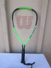 Wilson Racquetball Racket Titanium XPress Crushing Power XS 3 7/8 cover